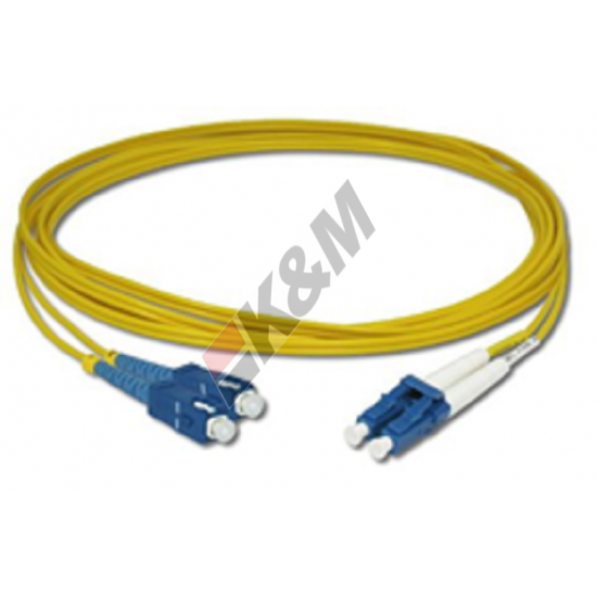SCPC a LC PC DX SM G652D 2.0m m LSZH Patch Cord