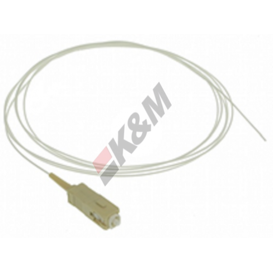 1.5 M SCPC MM MM 50/125 0,9 mm LSZH cable flexible