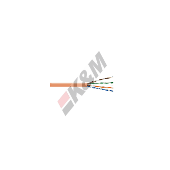 0.45Cu cable de cat5e cobre