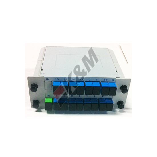 1x16 SCPC Mini Plug-in PLC Splitter box